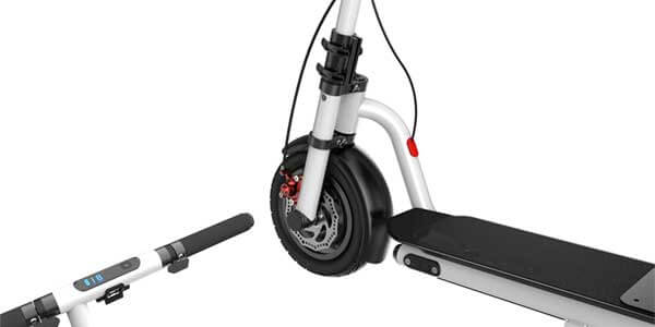 Ride hard on the smooth hards to test your electric scooter