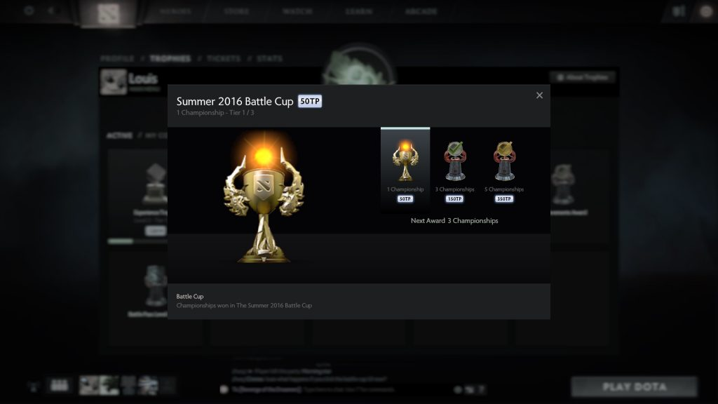 buy dota 2 battle cup wins
