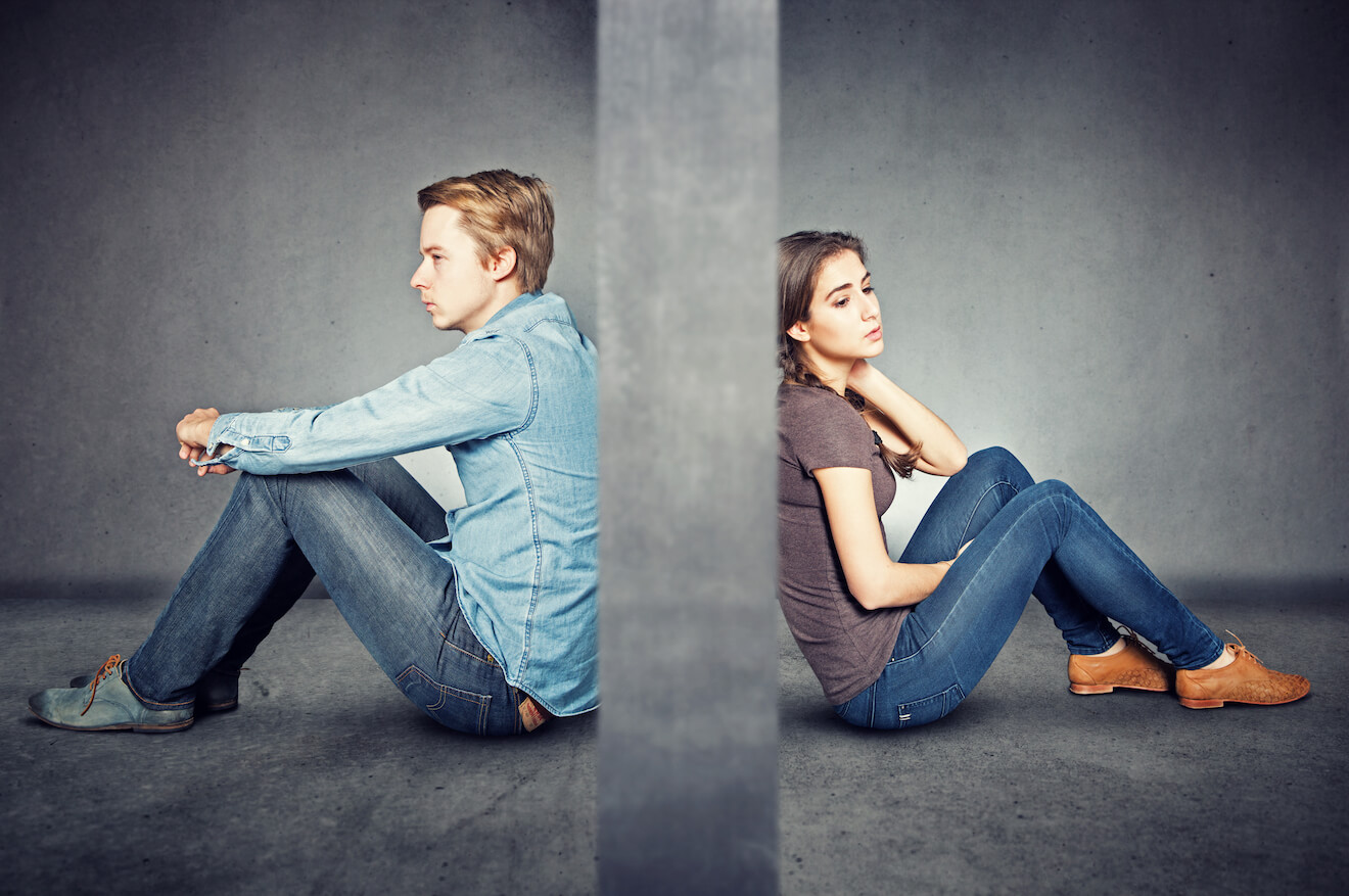 How should a good relationship between an unmarried or married couple be?